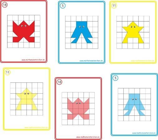 Mathemonsterchen Geometrie
