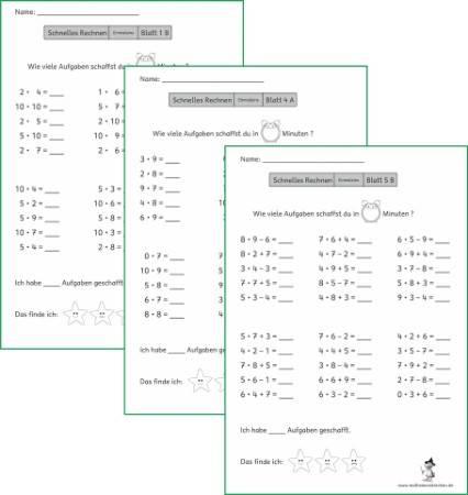 Mathemonsterchen Multiplikation Und Division