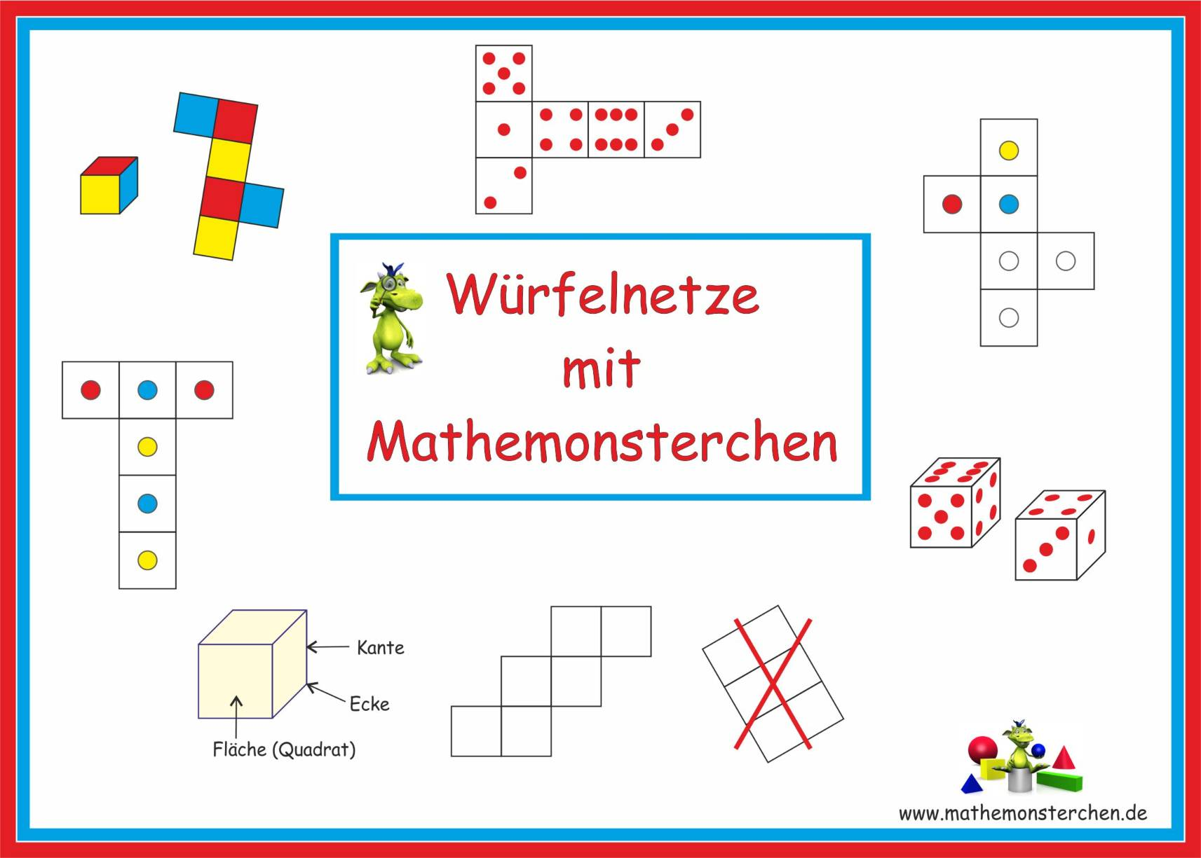 Mathemonsterchen Geometrie